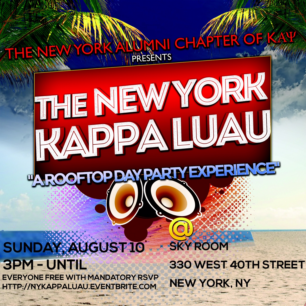 The New York Kappa Luau
