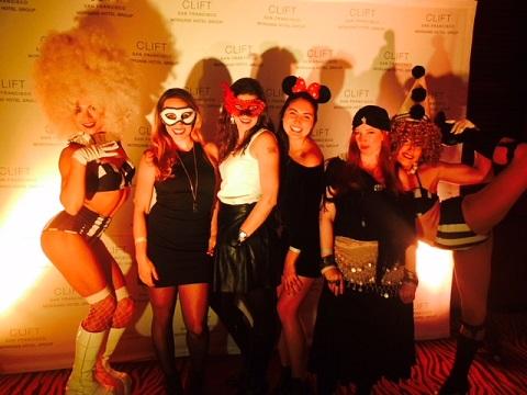 Halloween Clift Hotel