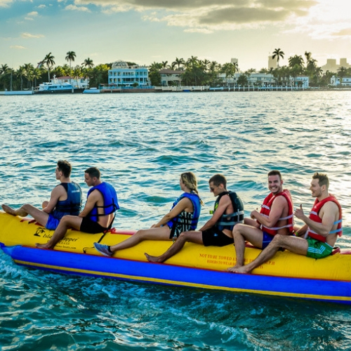 banana boat boat party