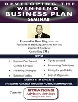 Developing the Winning Business Plan Seminar