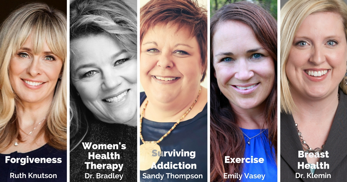 Ruth Knutson, Dr Shannon Bradley, Sandy Thompson, Emily Vasey, Dr. Jill Klemin