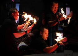 Robbie Flair Fire Show