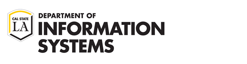 Department of Information Systems CSULA