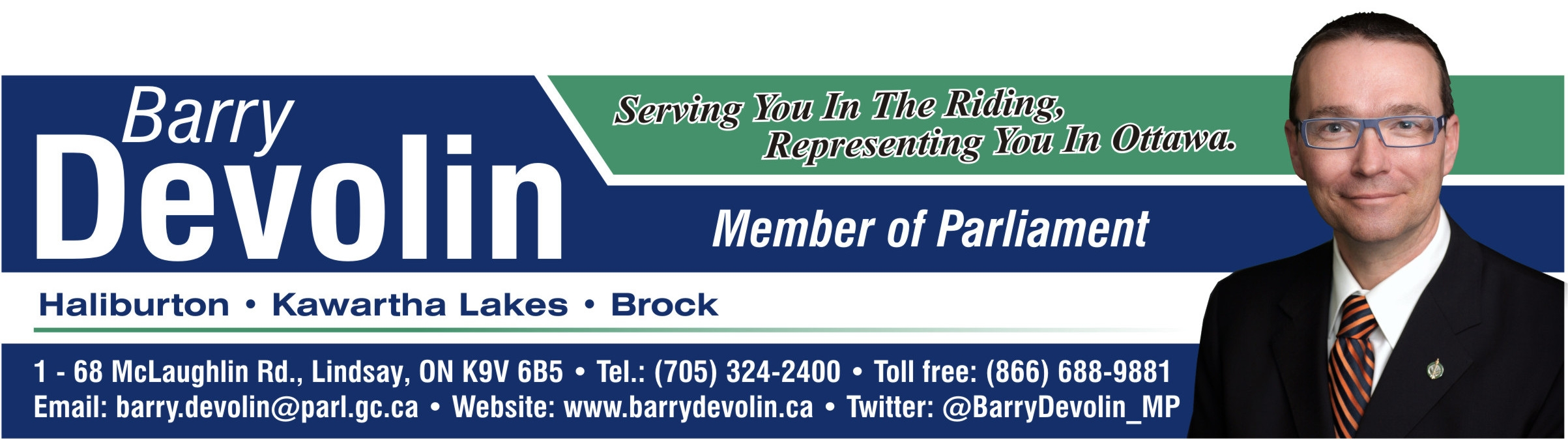 Barry Devolin Logo