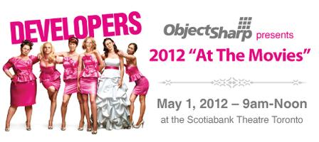 "ObjectSharp's 2012 ""At The Movies"""
