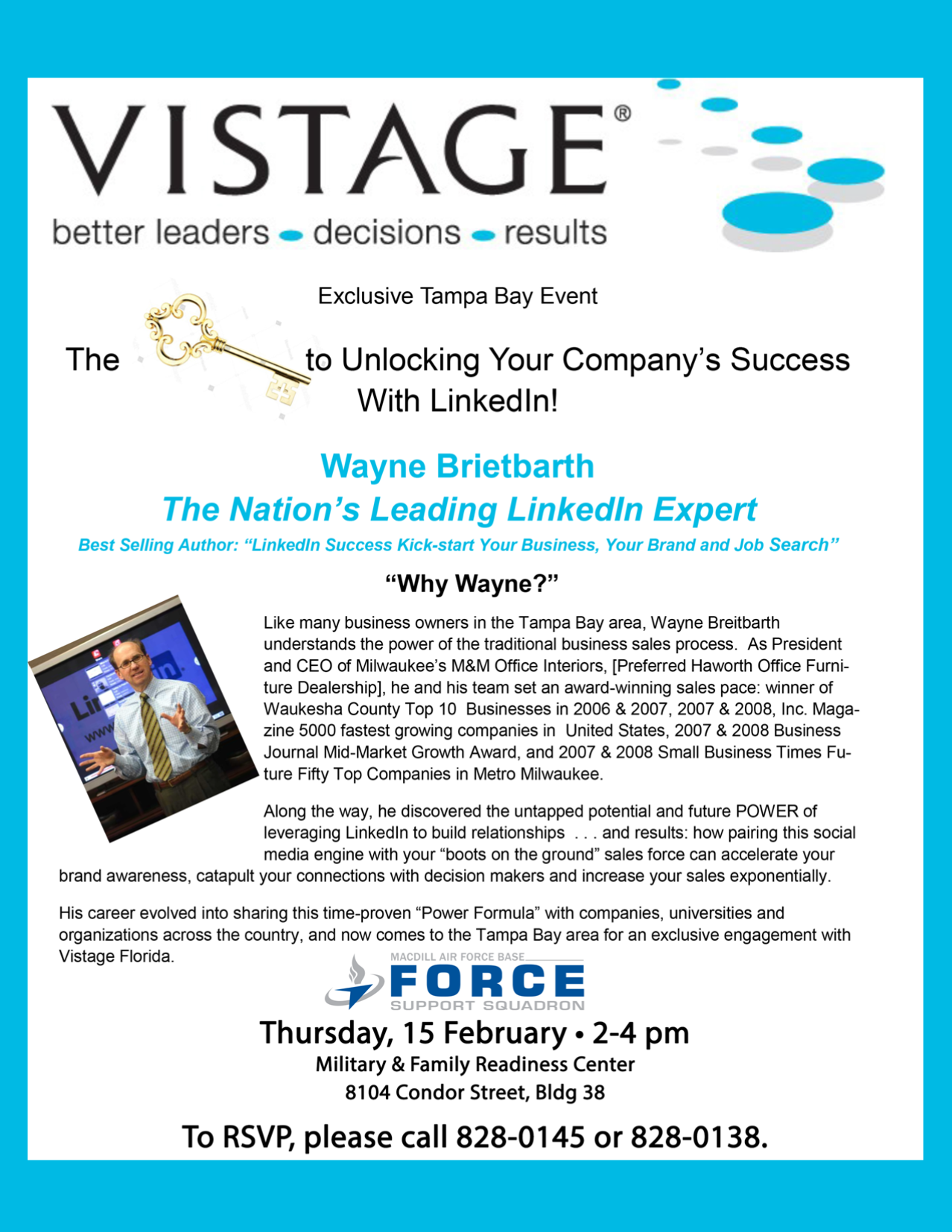 Military Executive Training - Vistage Cause Marketing