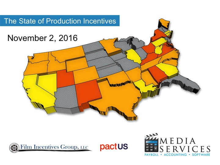 State of Production Incentives 11-2-2016