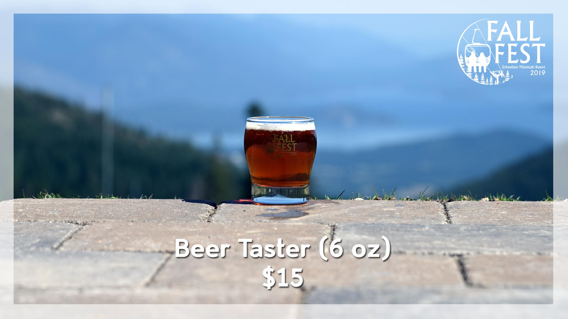 Fall Fest Beer Taster