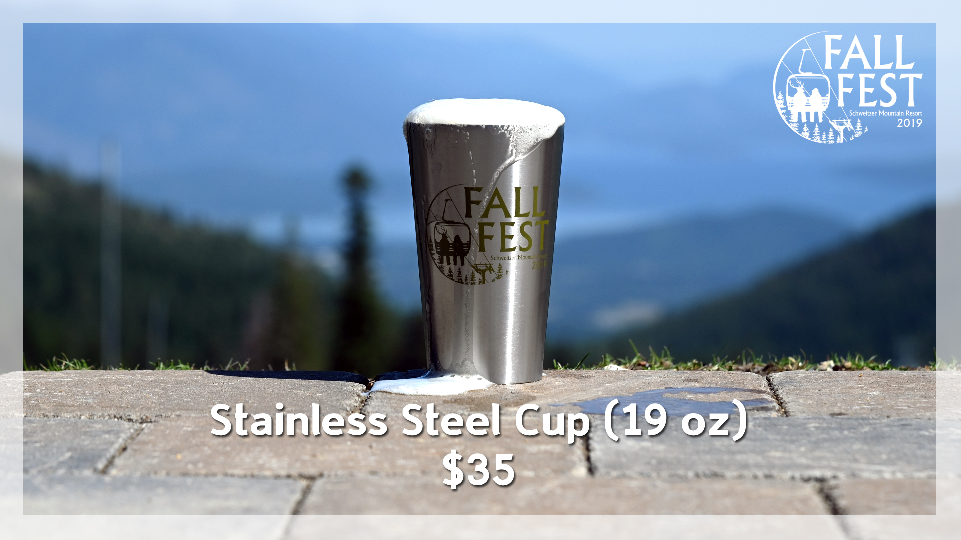 Fall Fest Stainless Cup