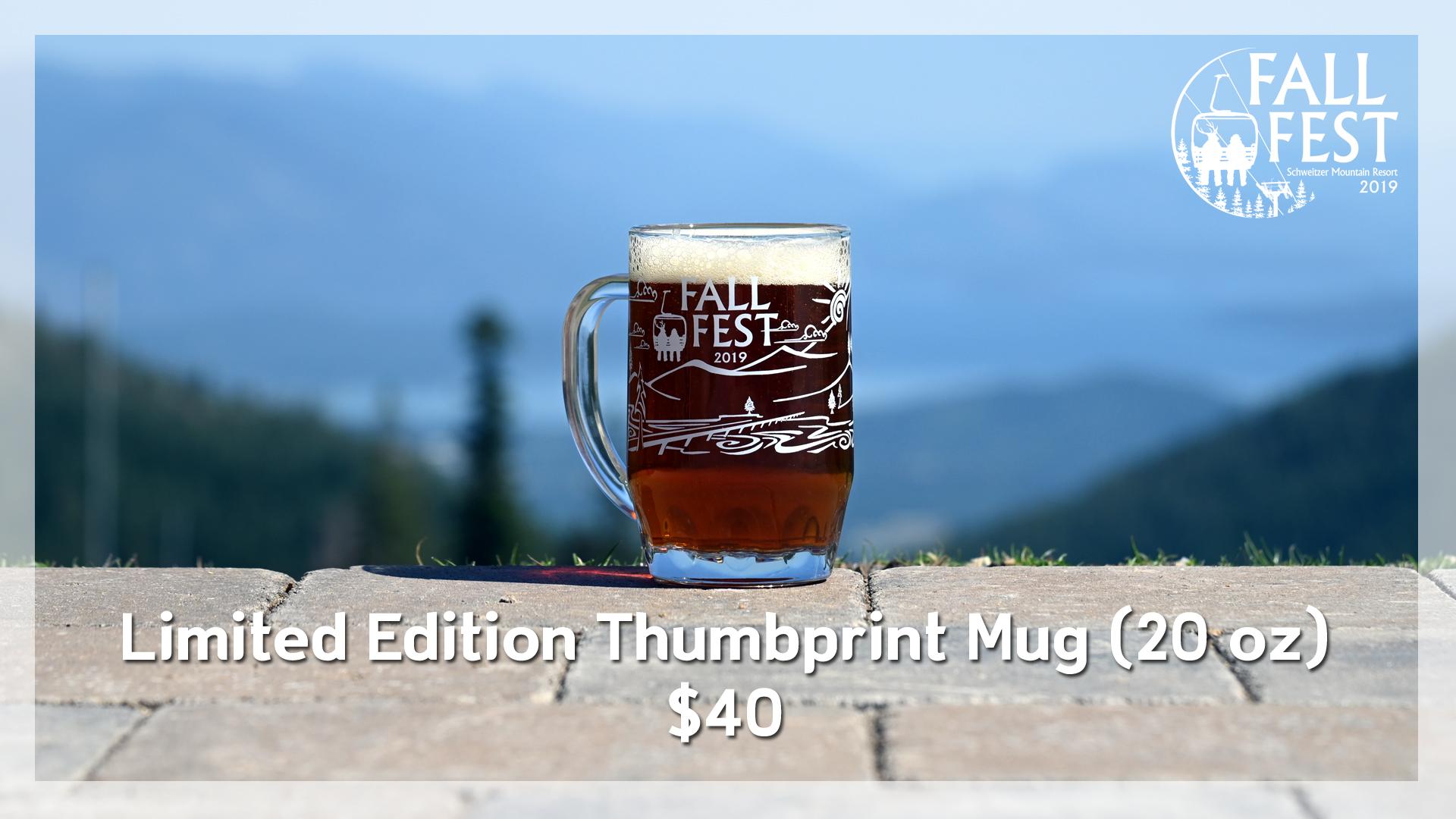 Fall Fest Thumbprint Mug