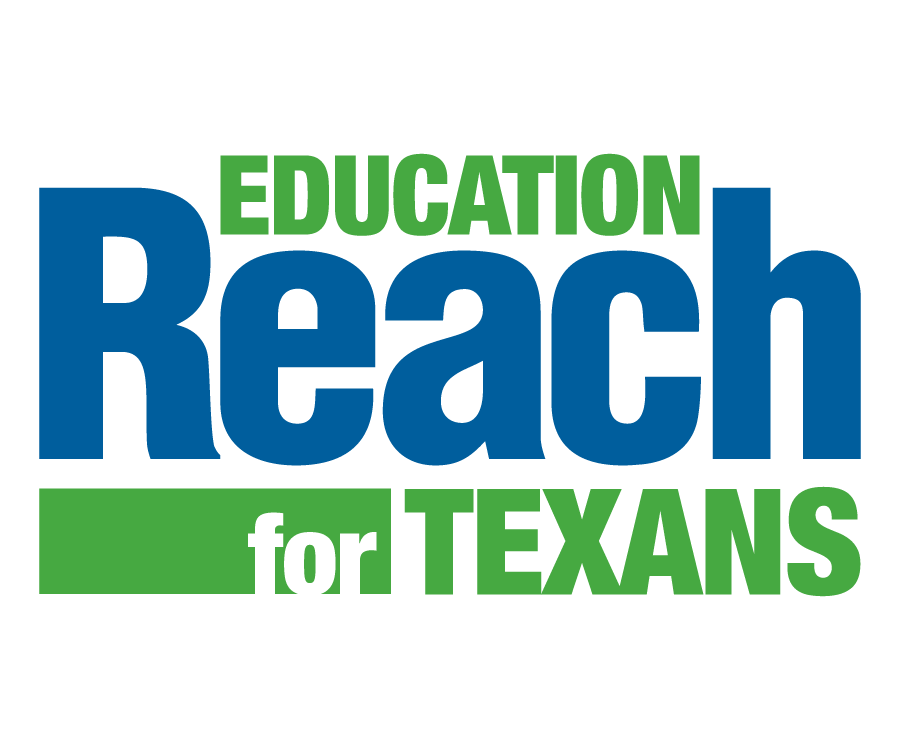Education Reach Logo - Blue and Green