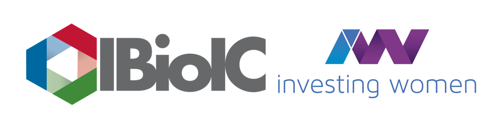IBioIC and Investing Women combined logo