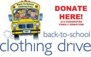 Donate to Back to School Clothing Drive