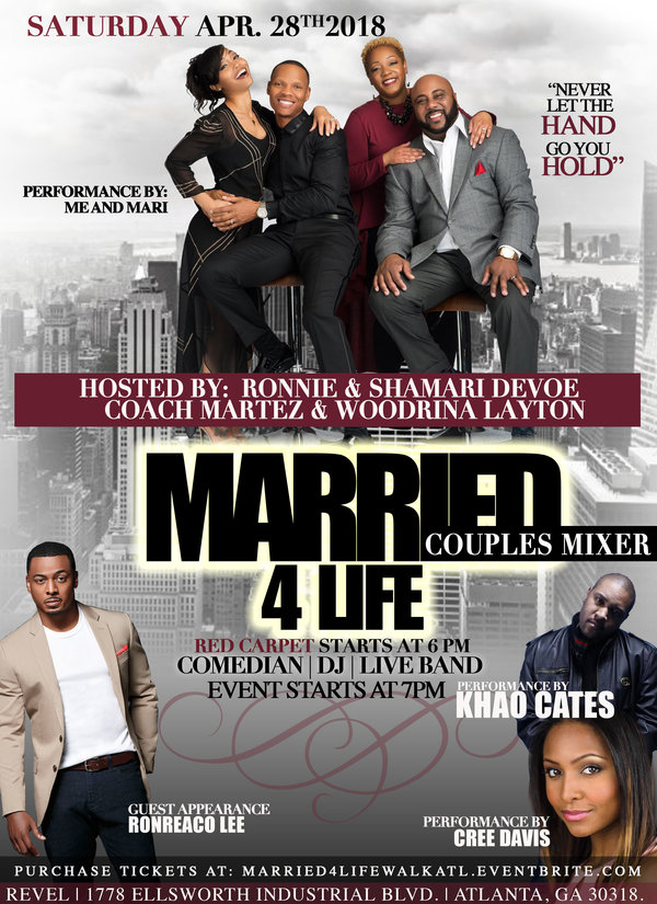 Flyer Married 4 Life Couples Mixer ATL