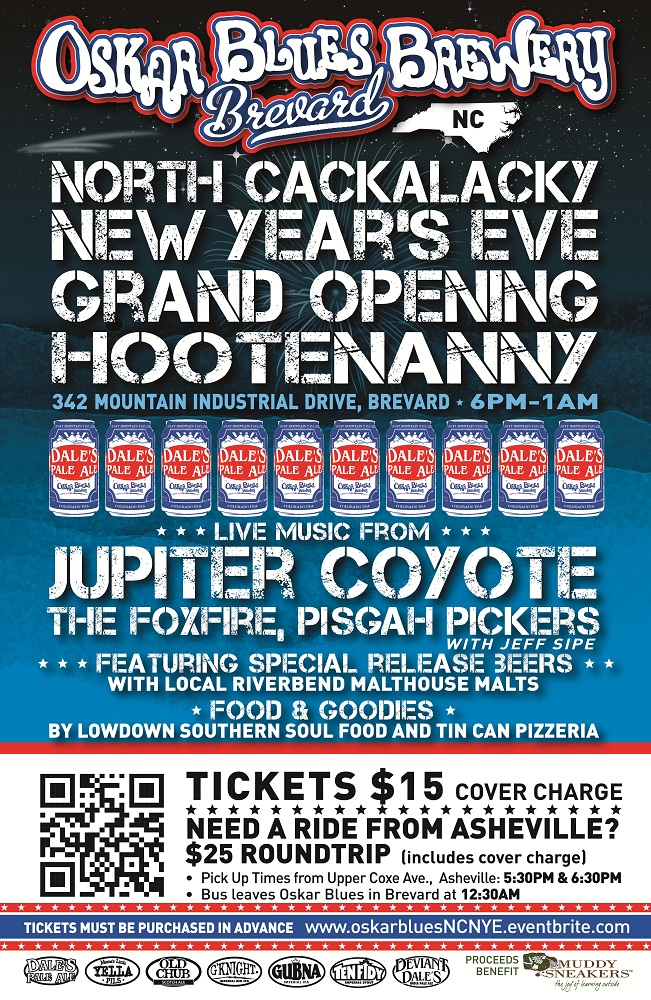 Brevard Grand Opening Party Poster