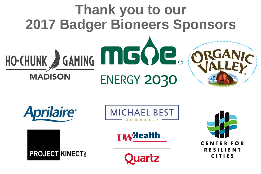 Thank you to our 2017 Badger Bioneers Sponsors