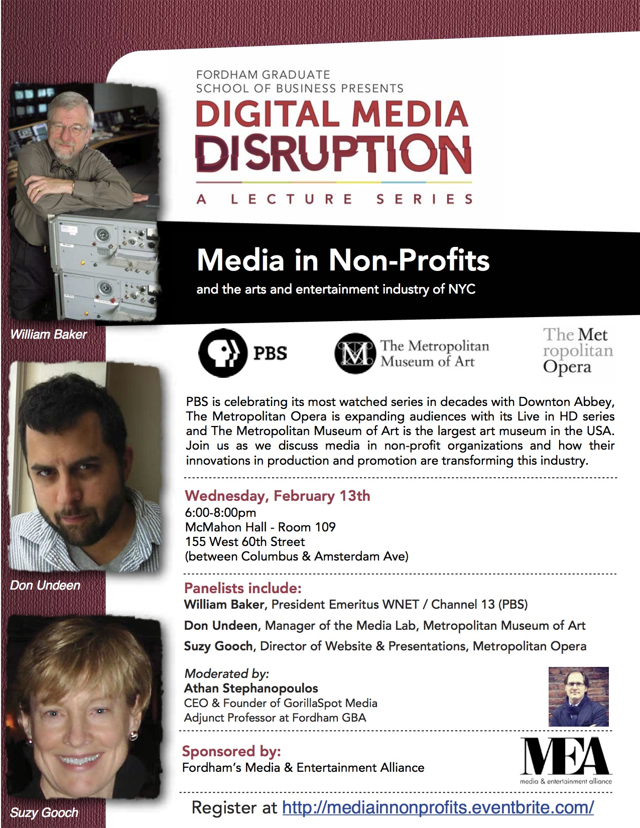 Digital Disruption flyer