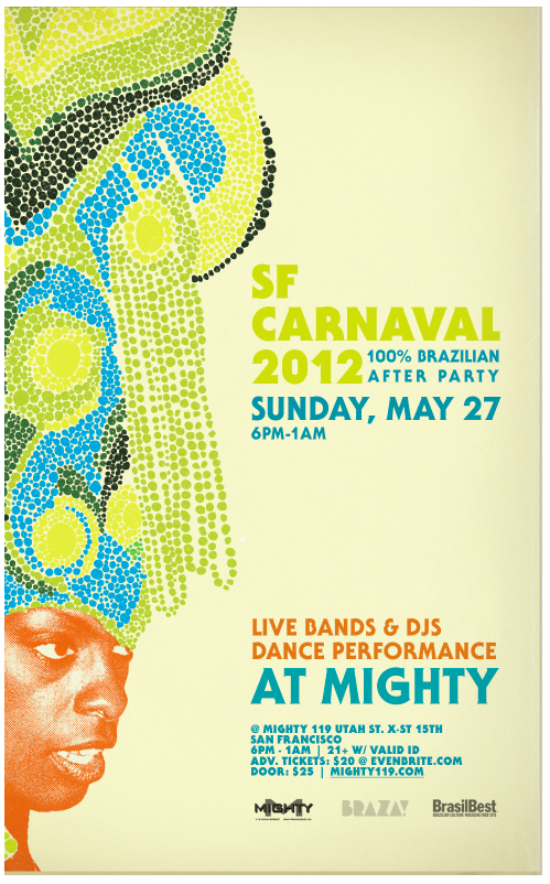 2012 SF CARNAVAL BRAZILIAN AFTER-PARTY!