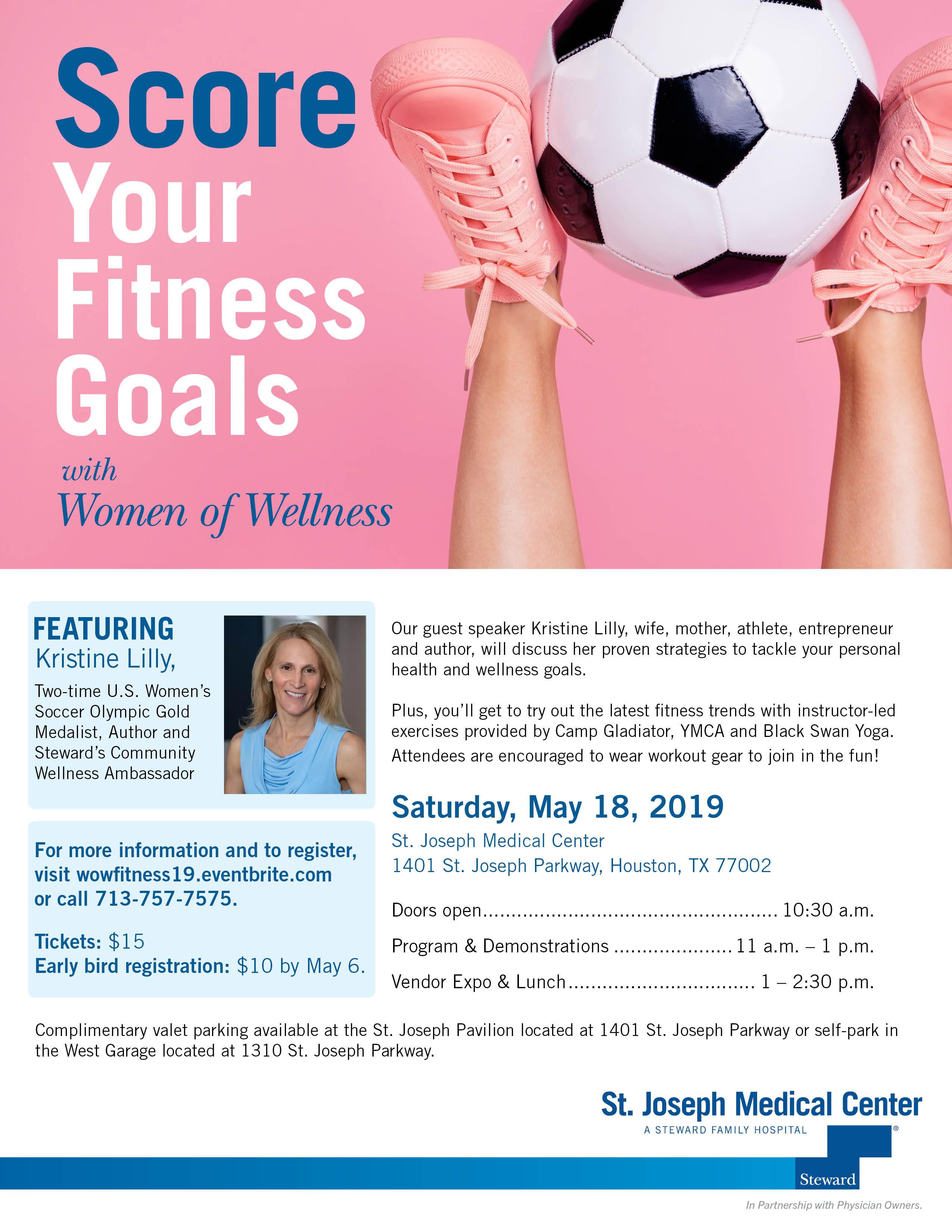 Score Your Fitness Goals Flyer