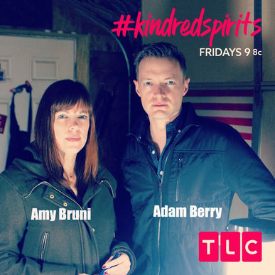 Adam Berry pictured here with Amy Bruni star in Kindred Spirits on TLC