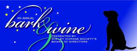 Shelby Humane Society's Bark and Wine