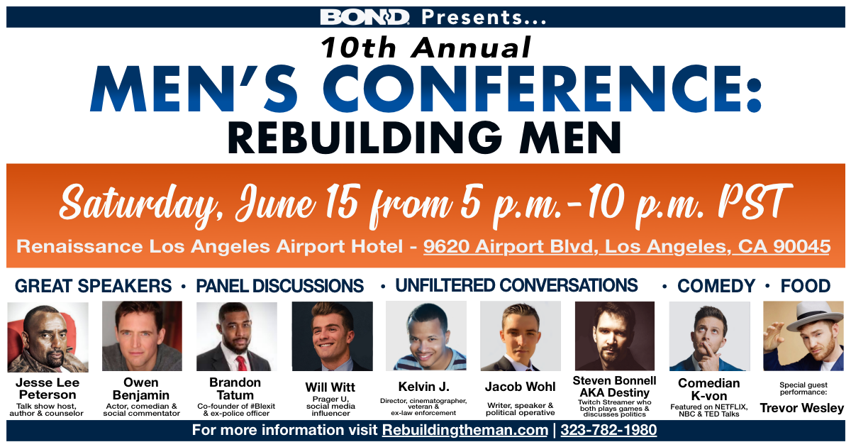 BOND's 10th Annual Mens conference