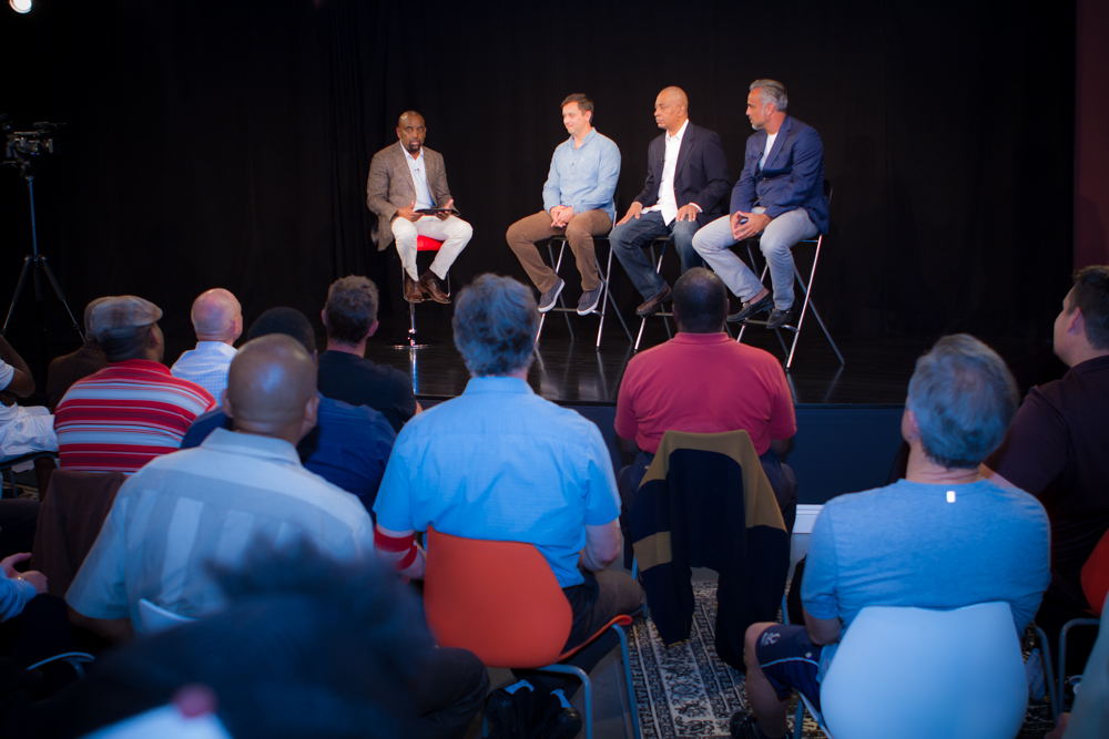 Panel discussion at BOND Fatherhood and Men's Conference