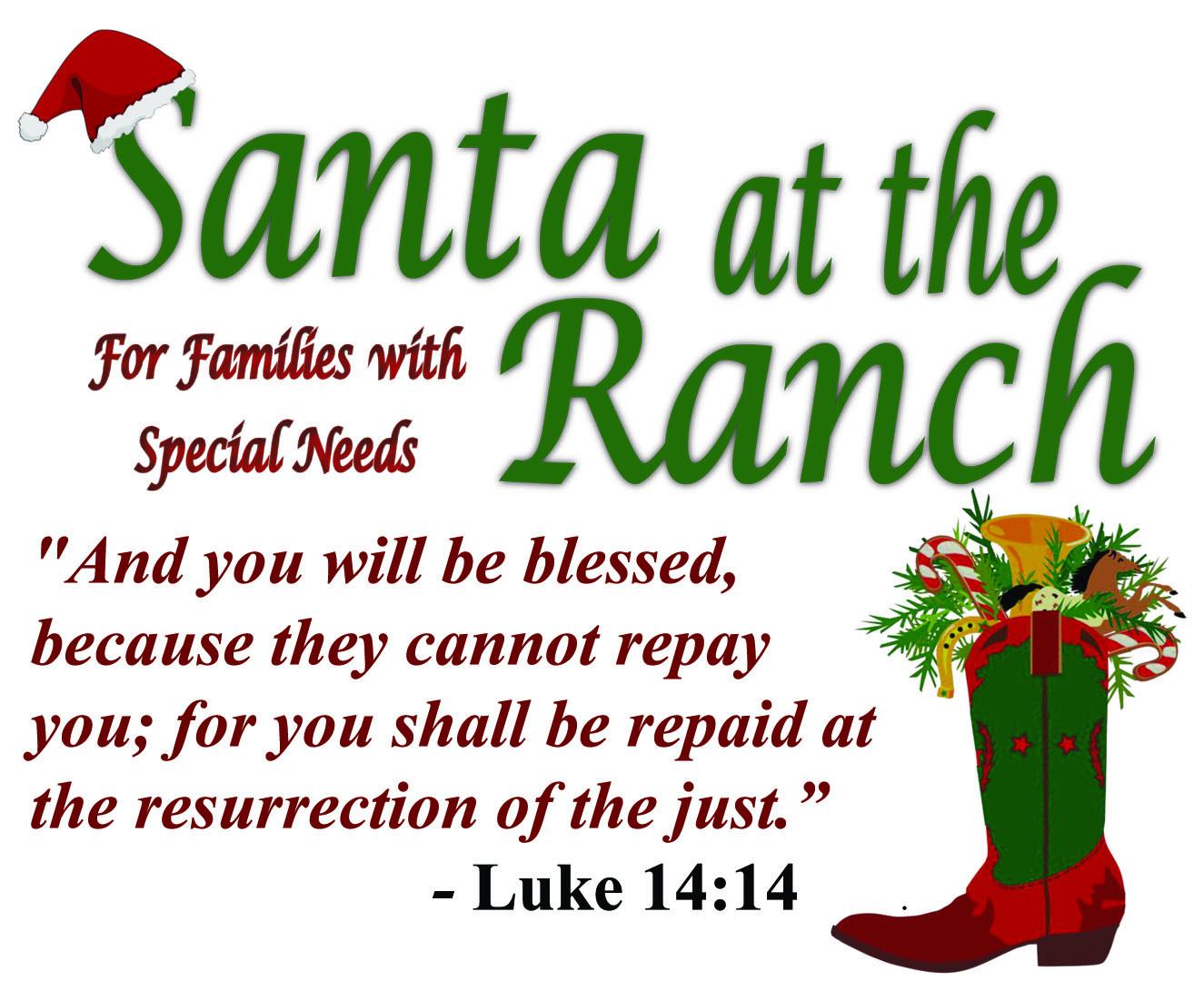 Santa at the Ranch 2016