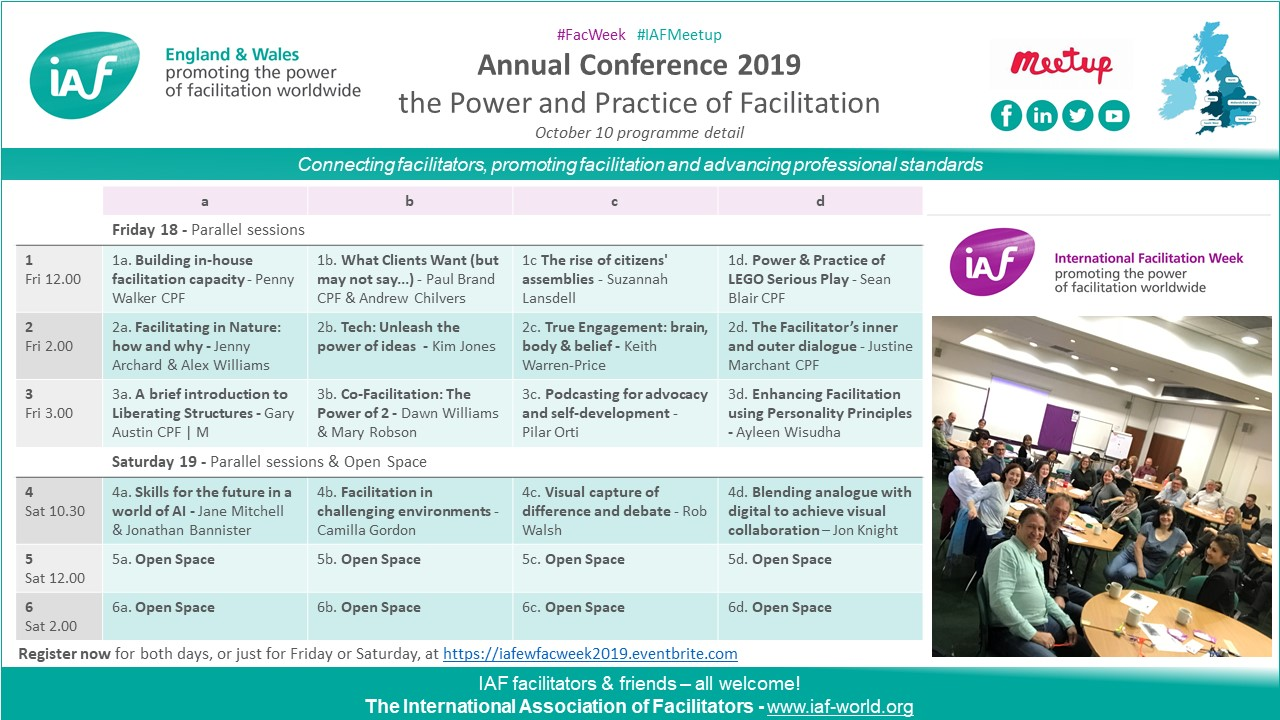 FacWeek 2019 Annual Conference - detail