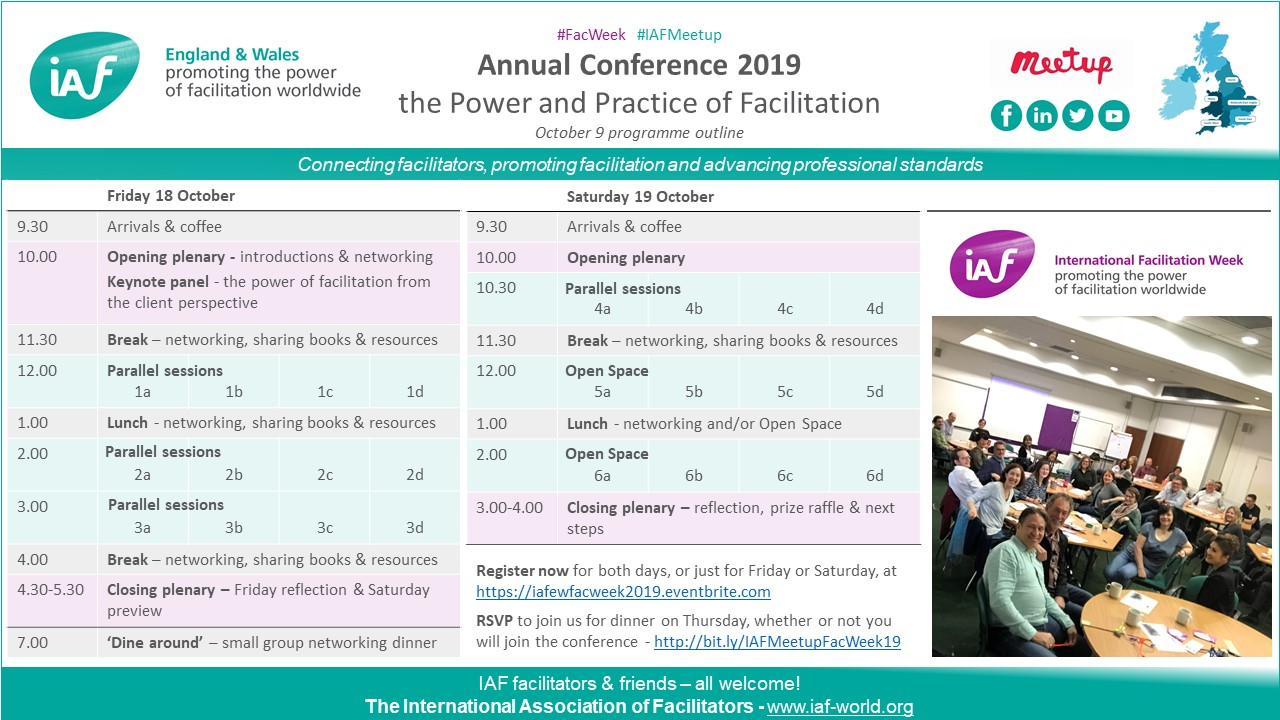 FacWeek 2019 Annual Conference - outline