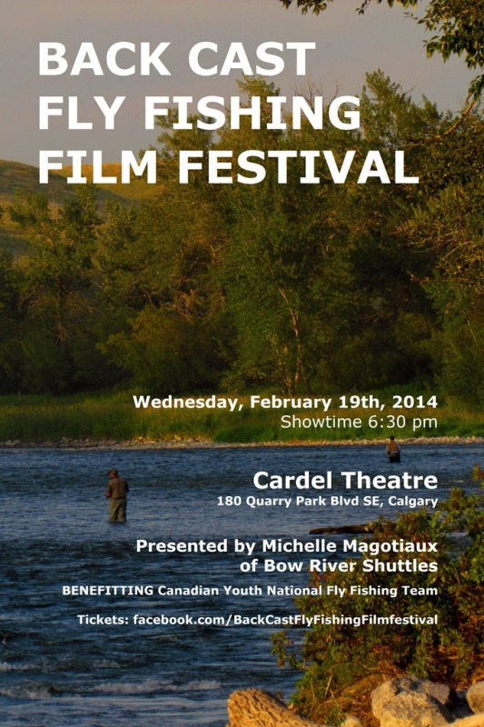 back cast fly fishing film festival 2014