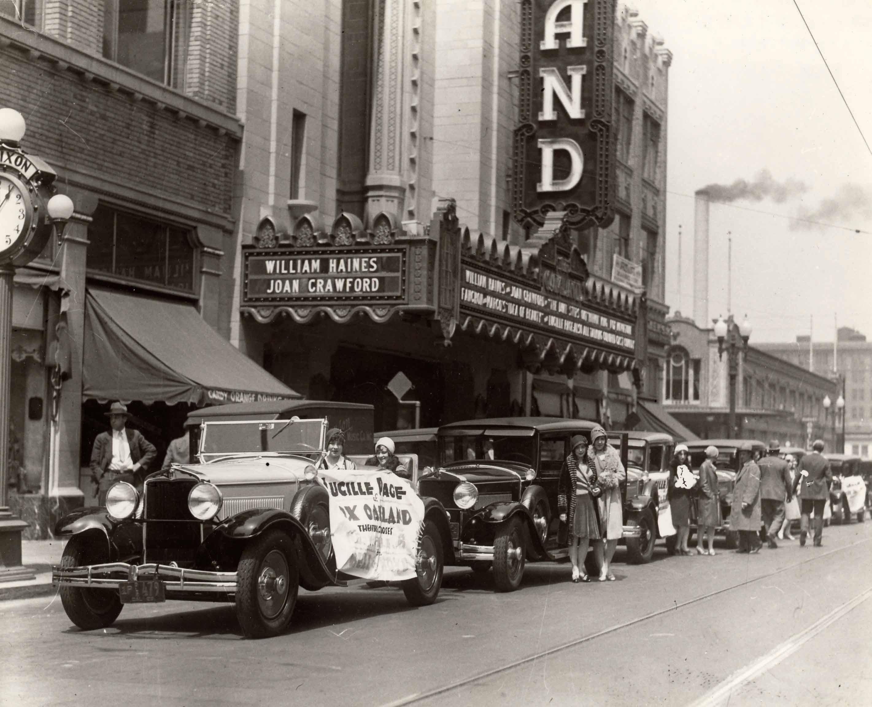Mezzanine at Historic Oakland Fox Theater