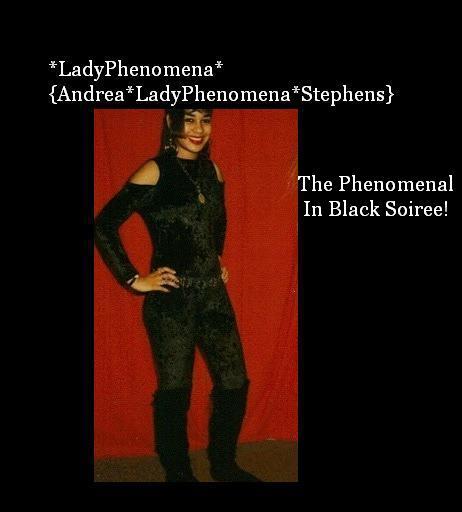 *LadyPhenomena* Images Of LadyPhenomena The Lady In Black!