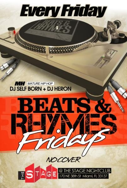 Follow @BeatsNRhymes Friday's