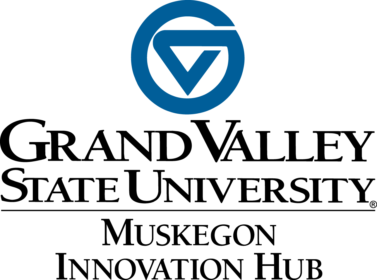 GVSU Muskegon Innovation Hub Logo