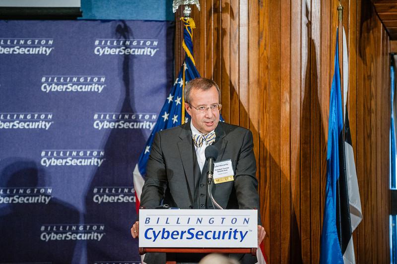 President of Estonia Keynoting at Billington Summit