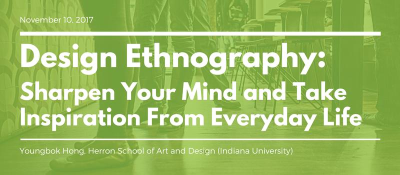 Design Ethnography workshop