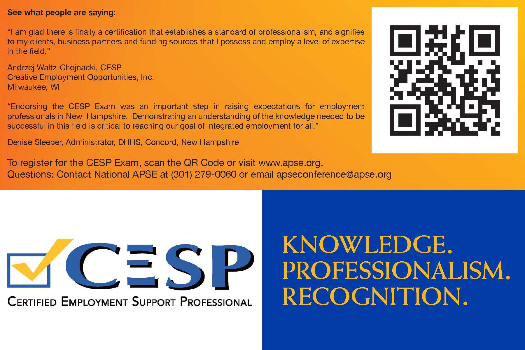 CESP Testimonials