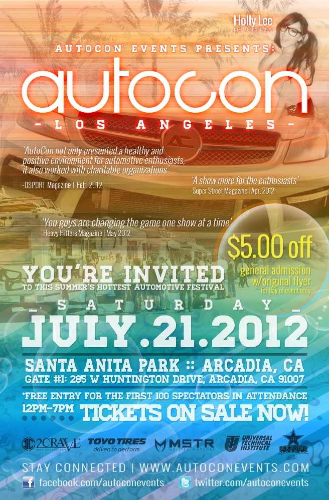 July 21, 2012 (AutoCon Show)