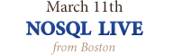 NoSQL Live ...from Boston