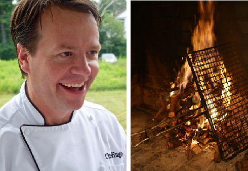 Chef Hugo Uys and Braai