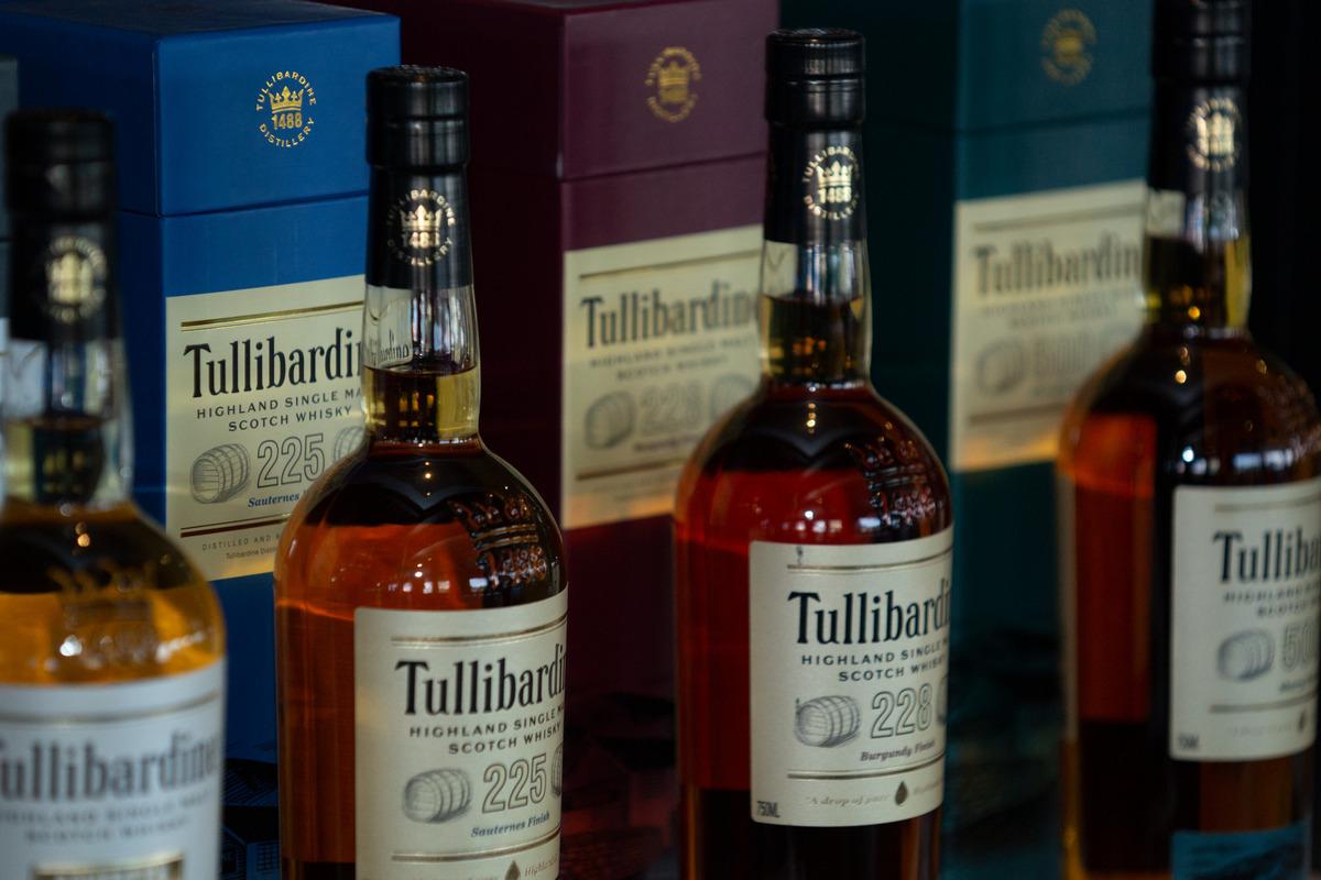 Tullibardine Bottles