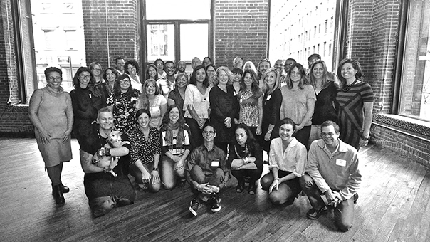 group photo of 2015 event