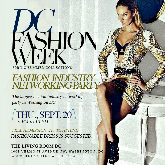 DC Fashion Week Official Networking Party
