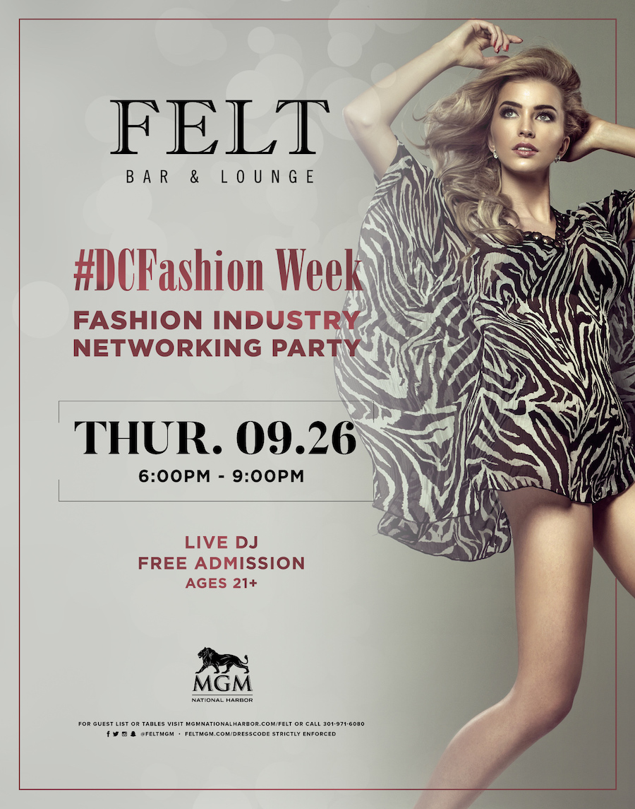 DC Fashion Week's Fashion Industry Networking Party