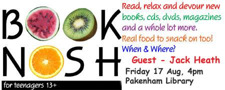 Book Nosh with Jack Heath