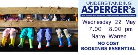 Understanding Asperger's - Narre Warren Wed 2205