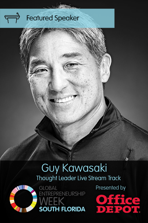 Featured Speaker Guy Kawasaki