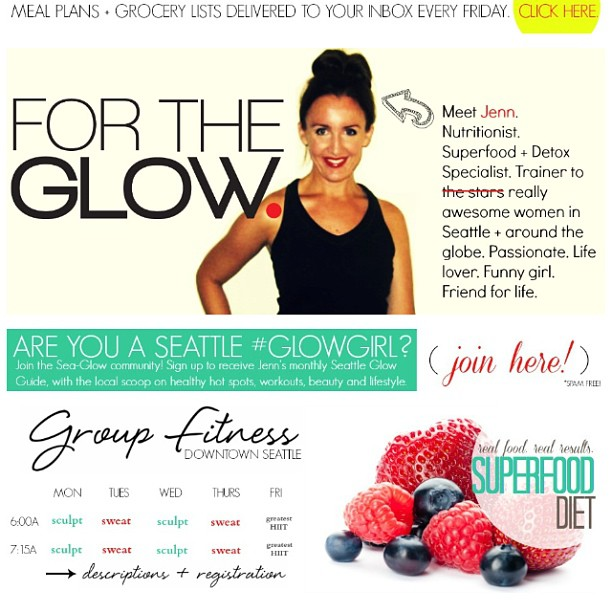 Win a For The Glow Nutrition Package!