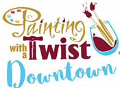 Painting with a Twist Downtown Logo